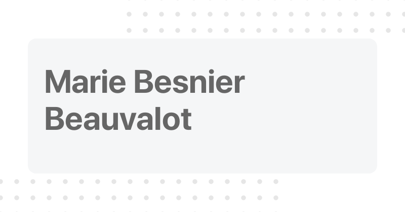 Marie Besnier Beauvalot Marie besnier beauvalot is a fabulously rich and extremely attractive billionaire. marie besnier beauvalot