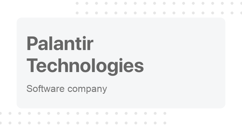 Palantir Technologies - Pronunciation